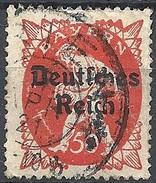 Germania  - 1920 F.llo Di Bayern Soprastampato 50p Rosso # Michel 125 - Scott (Bayern) 262 - Unificato 226 - Usato