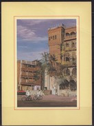 Saudi Arabia,Postcard  Showing Old Town Jeddah  City  Saudi Arabia And Old Building  RARE  Original Photo
