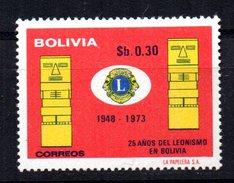 Sello Nº 530 Bolivia