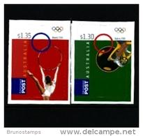 AUSTRALIA - 2008  OLYMPIC  GAMES  2nd   SELF  ADHESIVE SET  MINT NH