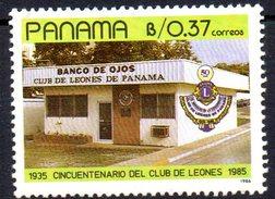 Sello Nº 1007 Panama
