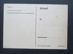 3. Reich Feldpostkarte 2. Weltkrieg Ungebraucht Interessant?? 10. 39 Schlüter, Hannover