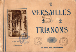 VERSAILLES ET TRIANONS  -  32 Vues Platinogravures Affranchies France/Allemagne - Other