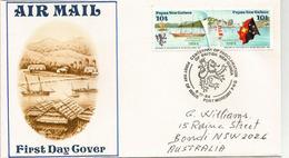 Centenaire De La Cession Allemande De La Papouasie à La Grande Bretagne, Sur Lettre Adressée En Australie