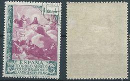 ESPAGNE SPANIEN SPAGNA SPAIN ESPAÑA 1940 PILAR AIR AÉREA 4+1 Ptas ED 912 YV AER 210 MI 882 SG 1004 SC CB16