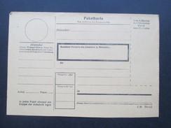 3. Reich Paketkarte Ungebraucht C20 Din A5. Interessant??