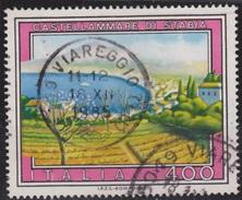 ITALIA - Valore Usato Di 400 Lire - Propaganda Turistica. 12° Emissione. Castellammare Di Stabia - 1.6.1985