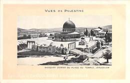 PALESTINE Palästina Palestina - JERUSALEM : Mosquée D'Omar Ou Place Du Temple - CPA - Asie Asia