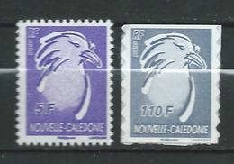 New Caledonia / NOUVELLE CALEDONIE 2006/2007.Cagou Type.birds.MNH - Unused Stamps