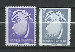 New Caledonia / NOUVELLE CALEDONIE 2006/2007.Cagou Type.birds.MNH - Nouvelle-Calédonie