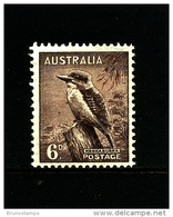 AUSTRALIA - 1942 DEFINITIVE  6d  WMK  PERF. 14 X 15  MINT NH  SG 190
