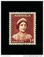 AUSTRALIA - 1941  DEFINITIVE  1d  MAROON  WMK  PERF. 14 X 15  MINT  SG 181