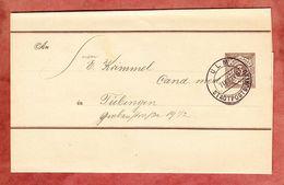 Wuerttemberg S 7, Stadtpostbureau Ulm Nach Tuebingen 1892 (35379) - Entiers Postaux