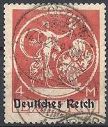 Germania  - 1920 F.llo Di Bayern Soprastampato 4m Mattone # Michel 135 - Scott (Bayern) 272 - Unificato 236 - Usato