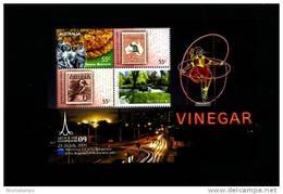 AUSTRALIA - 2009  VINEGAR MELBOURNE STAMP SHOW  MS  MINT NH - Blocchi & Foglietti