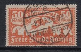 (04788) Danzig 134 Gestempelt Geprüft