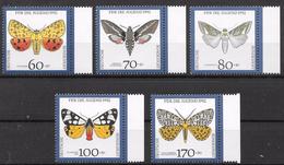 Bund 1992 / MiNr.   1602 – 1606  Rechte Ränder   ** / MNH   (e573)