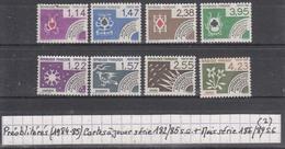 France (1984-85) Préos Cartes à Jouer Série 182/85 S.G. + Mois Série 186/89 S.G. à 15% De La Cote (2)