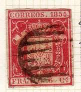 ESPAGNE - ANCIENNE COLLECTION SUR CHARNIERE - YT N° 24 COTE 1.80 €