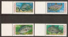 Namibia 1994 Mi# 764-767 ** MNH - Coastal Angling / Fish