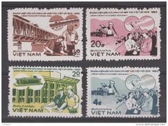 VIETNAM 1984   FRIENSHIP PROJECTS   SCOTT N°1359/62 ** MNH    Réf  0400