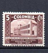 Sello Nº 304 Colombia