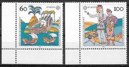 Bund 1992 / MiNr.   1608 – 1609  Linke Untere Ecken   ** / MNH   (e575)