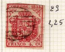 ESPAGNE - ANCIENNE COLLECTION SUR CHARNIERE - YT N° 29 COTE 2.25 €