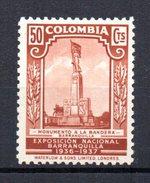Sello Nº 306 Colombia