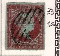 ESPAGNE - ANCIENNE COLLECTION SUR CHARNIERE - YT N° 35 COTE 1.50 €