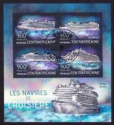 PAQUEBOTS - Les Navires De Croisière // Republique Centroafricaine 2013