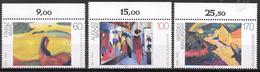 Bund 1992 / MiNr.   1617 – 1619  Oberränder    ** / MNH   (e578)