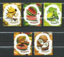 Vanuatu 2007 Tropical Fruits - Self Adhesive Stamps.Banana,Melons,Citrus,Papaya,Coconuts.MNH