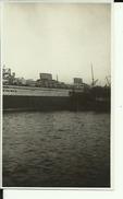 JUGOSLAVIJA  --  ROYAL NAVY  --  TIVAT  --  SHIP  --  PHOTO  10,7 Cm X 6,5 CM