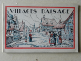 (67) Bas Rhin - Villages D'Alsace - Dépliant 12 Cartes - Hoerdt, Engwiller,Scherwiller, Nothalten, Oberseebach... - Non Classificati