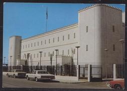 Saudi Arabia Old ,Postcard  Showing Building In Riyadh    Rare   Original Photo