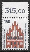 Bund 1992 / MiNr.   1623  Oberrand    ** / MNH   (e580)