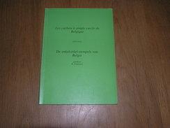 LES CACHETS A SIMPLE CERCLE DE BELGIQUE 1873 1910 H Koopmann Philatélie Timbre Poste Belge Oblitérations Cachet Postal - Timbres