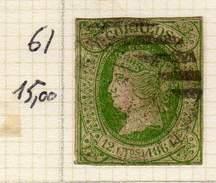 ESPAGNE - ANCIENNE COLLECTION SUR CHARNIERE - YT N° 61 COTE 15 €