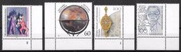 Bund 1992 / MiNr.   1626 , 1627 , 1628 , 1629  Ecken    ** / MNH   (e581)