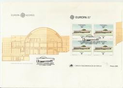 PORTUGAL FDC 1987 EUROPA