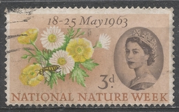 Great Britain 1963. Scott #393 (U) Buttercups, Daisies And Bee * - 1952-.... (Elizabeth II)
