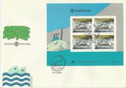 PORTUGAL FDC 1986 EUROPA