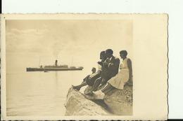 JUGOSLAVIJA  --  SIBENIK  --   ROYAL NAVY  --  SHIP  --  POSTCARD FORMAT