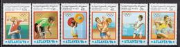 Western Sahara MNH Set, Non-official Issue! - Summer 1996: Atlanta