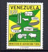 Sello Nº A-876  Venezuela