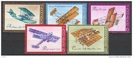 Sovjet Union  Russia 1974 Mi 4315-4319  MNH - Aviones