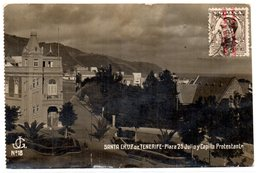 Tarjeta Circulada De Santa Cruz De Tenerife