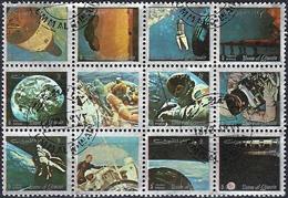 Umm Al-Qiwain 1972 - Space Travel ( Mi 871/82A - YT Xxx ) Sheet - Raumfahrt