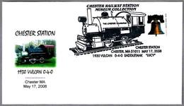 "1930 Vulcan 0-4-0 Saddletank ""Lucy"". Ferrocarril - Railroad. Chester MA 2008"